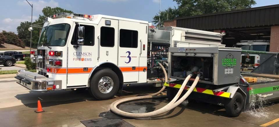 Lesslie Welding & Fabrication | Rock Hill, SC | lesslie fire truck